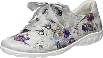 Remonte Womens R3413 Low-Top Sneakers, Multicolour (Ice/Offwhite-Metallic 91), 6.5 UK