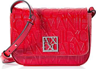 A X Armani Exchange Shiny Liz - Small Shoulder Strap Womens Shoulder Bag, Pink (Rosa - Pink), 13x5x19 Centimeters (B x H x T)