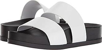 Via Spiga Womens Milton Pool Slide Sandal, Porcelain Leather, 6 M US