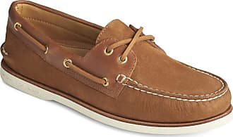Sperry Top-Sider Gold A/O 2-Eye Roustabout Mens Boat Shoes Brown Size: 11.5 UK
