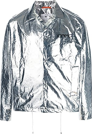 OAMC metallic shirt-jacket - Silver