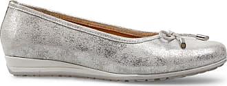 Van Dal Womens Medford Leather Ballet Pump, Silver, Size 37 EU
