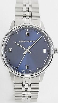 Larsson & Jennings Jubilee bracelet watch in silver 38mm
