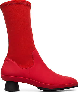 Camper Alright K400217-008 Boots Women 7 Red