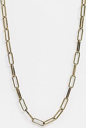 Icon Brand Collana oro con sottili anelli ovali