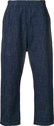 Universal Works loose fit trousers - Blue