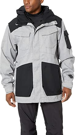 Volcom Mens VCO Inferno Insulated 2 Layer Stretch Snow Jacket, Heather Grey, Large