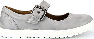 Boulevard Ladies Summer Shoes and Sandals Buckle Bar Casual Shoe Super Comfort Micro Fibre Lining - Distressed Silver, Ladies UK 5 / EU 38