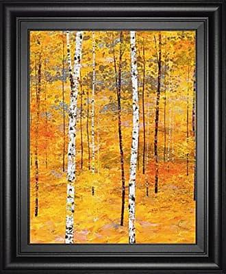 Classy Art Iridescent Trees V by Alex JAWDOKIMOV