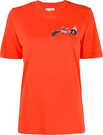 Kirin Camiseta com estampa - Laranja