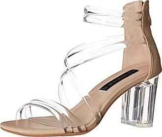 Steven by Steve Madden Womens Lexis Heeled Sandal, Blush Multi, 6.5 M US