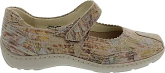 Waldläufer Womens Henni Multicolour Mary Jane Velcro Shoes 496302 144 060 7.5 UK