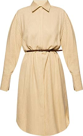 The Row Dress With Belt Womens Beige