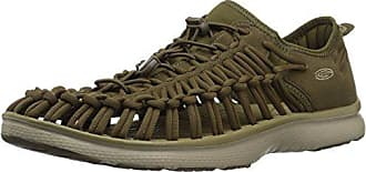 Keen Mens Uneek O2-M Sandal, Dark Olive/Antique Bronze, 7.5 M US