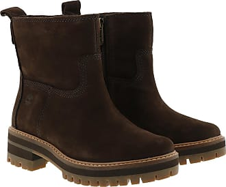 Timberland Boots & Booties - Courmayeur Vallex Faux Fur Bootie Dark Walnut - brown - Boots & Booties for ladies