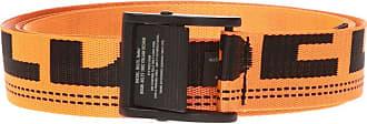 Diesel Belt With Logo Mens Orange