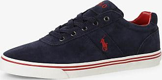 Polo Ralph Lauren Herren Sneaker aus Leder blau