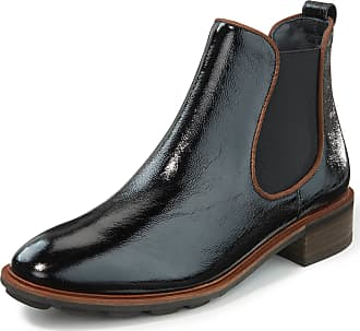 Paul Green Chelsea ankle boots stretchy side inserts Paul Green black