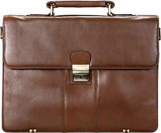 Visconti 1775 Briefcase, Brown, One Size