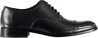 Firetrap Mens Blackseal Arundel Derby Shoes Black UK 11 (45)