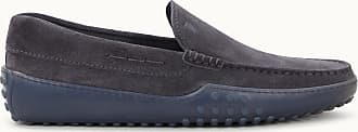 Tod's Gommino-Slipper aus Veloursleder, GRAU, 5 - Shoes