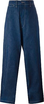 E. Tautz Calça jeans Field pantalona - Azul