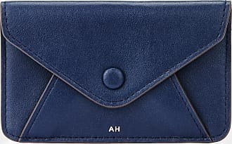 Anya Hindmarch Envelope Purse Sticker Circus in Navy