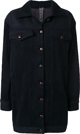 Ksenia Schnaider oversized fit jacket - Preto