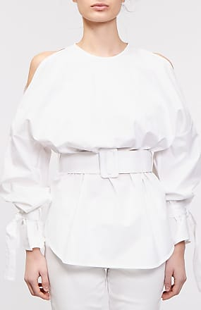 Rabaini Erika Cavallini - Camicia e cintura - Bianco