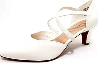 Jane Klain Pumps mit Riemchen 224-790 Damen Schuhe Hochzeit Business schwarz NEU