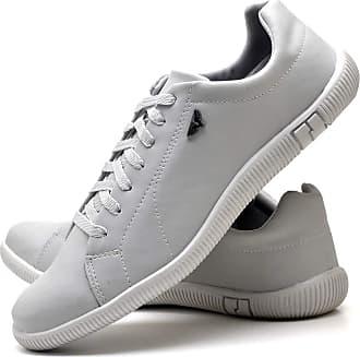 Juilli Sapatênis Sapato Casual Com Cadarço Masculino JUILLI 900DB Tamanho:37;cor:Branco;gênero:Masculino