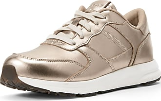 Ariat Womens Fuse Plus Sneakers Shoes in Rose Gold Leather, B Medium Width, Size 6.5, by Ariat