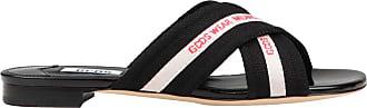 GCDS Sandalo Criss Cross Donna Mod. SS19W010028 Black Size: 4 UK