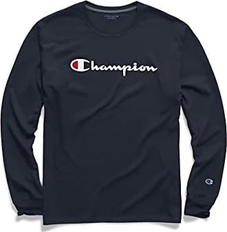 Champion Mens Big and Tall Ls Tee with Lc C
