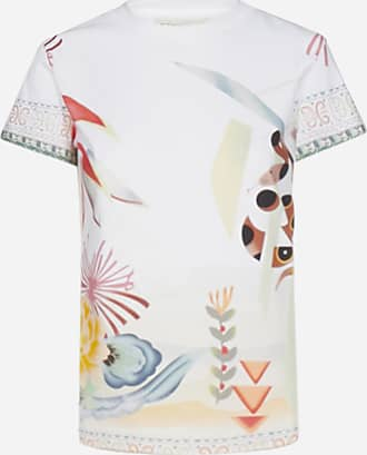 Etro T-shirt in cotone con stampa Safari - ETRO - donna