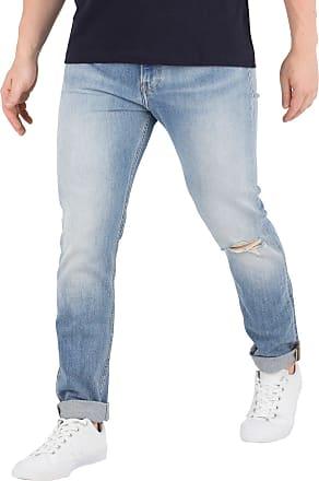 Calvin Klein Jeans Mens Skinny West Jeans, Blue, 36W x 32L