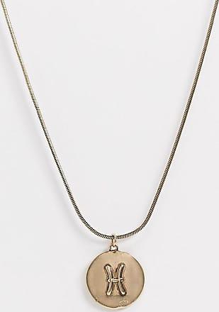 7X SVNX Pisces horoscope necklace-Gold