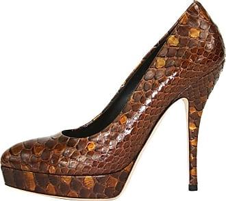 ab390b079579 Gucci New Gucci Python Amber Platform Pumps Shoes It. 36 - Us 6