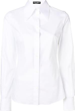 Dolce & Gabbana pointed collar shirt - White