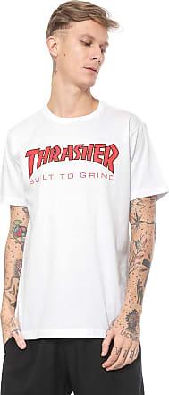 Independent Camiseta Independent Thrasher Thr Btg Branca