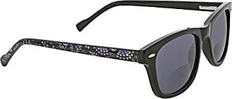 Vera Bradley Womens Flynn VBFLYNN0BRM25 Square Reading Glasses, Bramble, 2.5