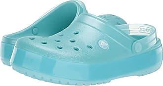 Crocs Crocband Ice Pop Clog (Ice Blue) Clog/Mule Shoes