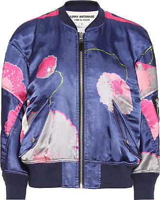 Junya Watanabe Floral satin bomber jacket