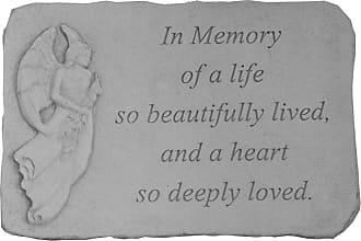 Kay Berry In Memory Of Memorial Garden Stone - 15.25 x 10.5 - 23101