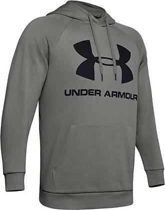 Under Armour Rival Fleece Sportstyle Logo Hoodie Felpa con cappuccio Uomo | grigio