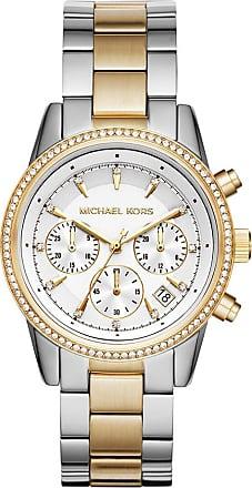 Michael Kors MK6474 Ritz Watch Silver/Gold