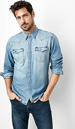 bdf7d4b6dd Levi s Authentic Western denim shirt Semi-tailored fit