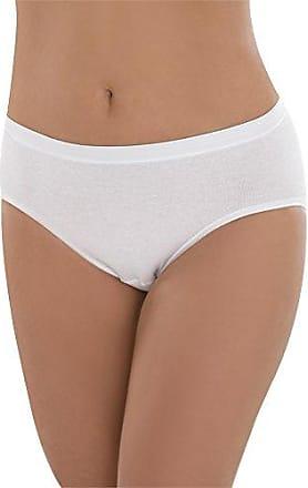 Damenslip 10 Stück Hüftslip Taillenslip Unterhose 100/% Baumwolle Unterhose Slip