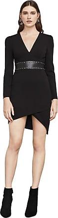 BCBGeneration Natalea Asymmetrical Open-Back Dress