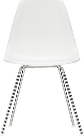 Vitra DSX Plastic Side Chair Chrome Base
